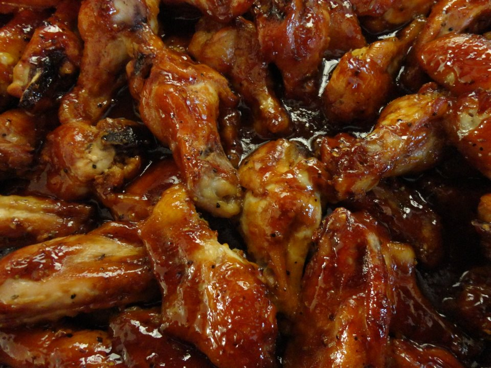 home schooled bbq chicken wings recipe 10 best chicken wings bbq sauce ...